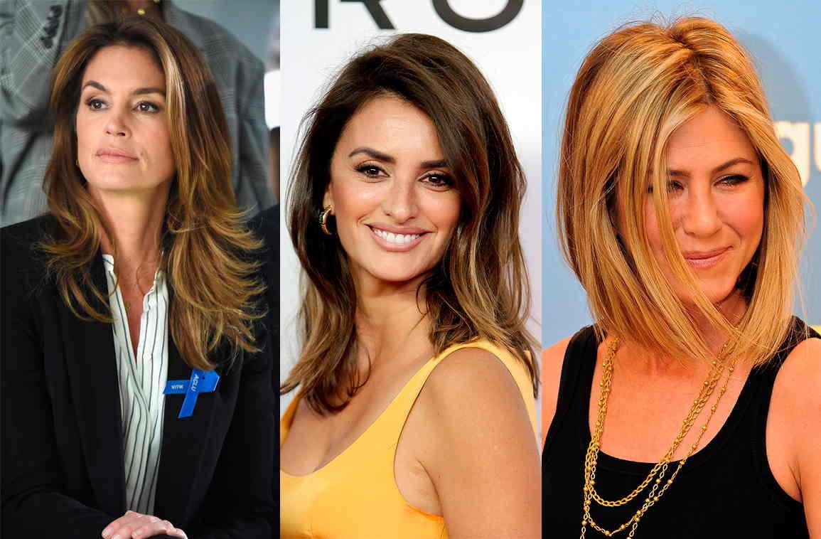 cortes a capas de pelo largo