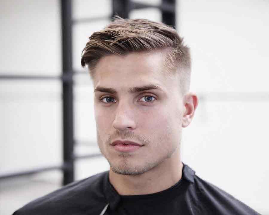 cortes de pelo corto hombre moderno