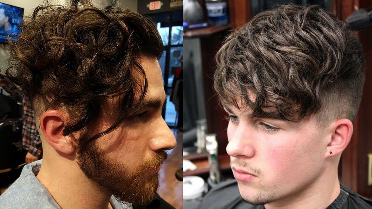 cortes de pelo rizado hombres