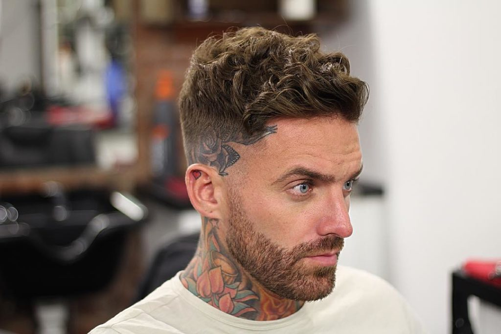 cortes de pelo rizos hombre