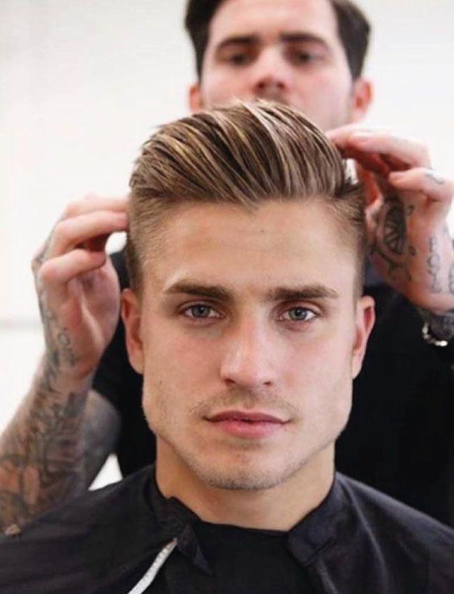 cortes de pelo hombre con lineas