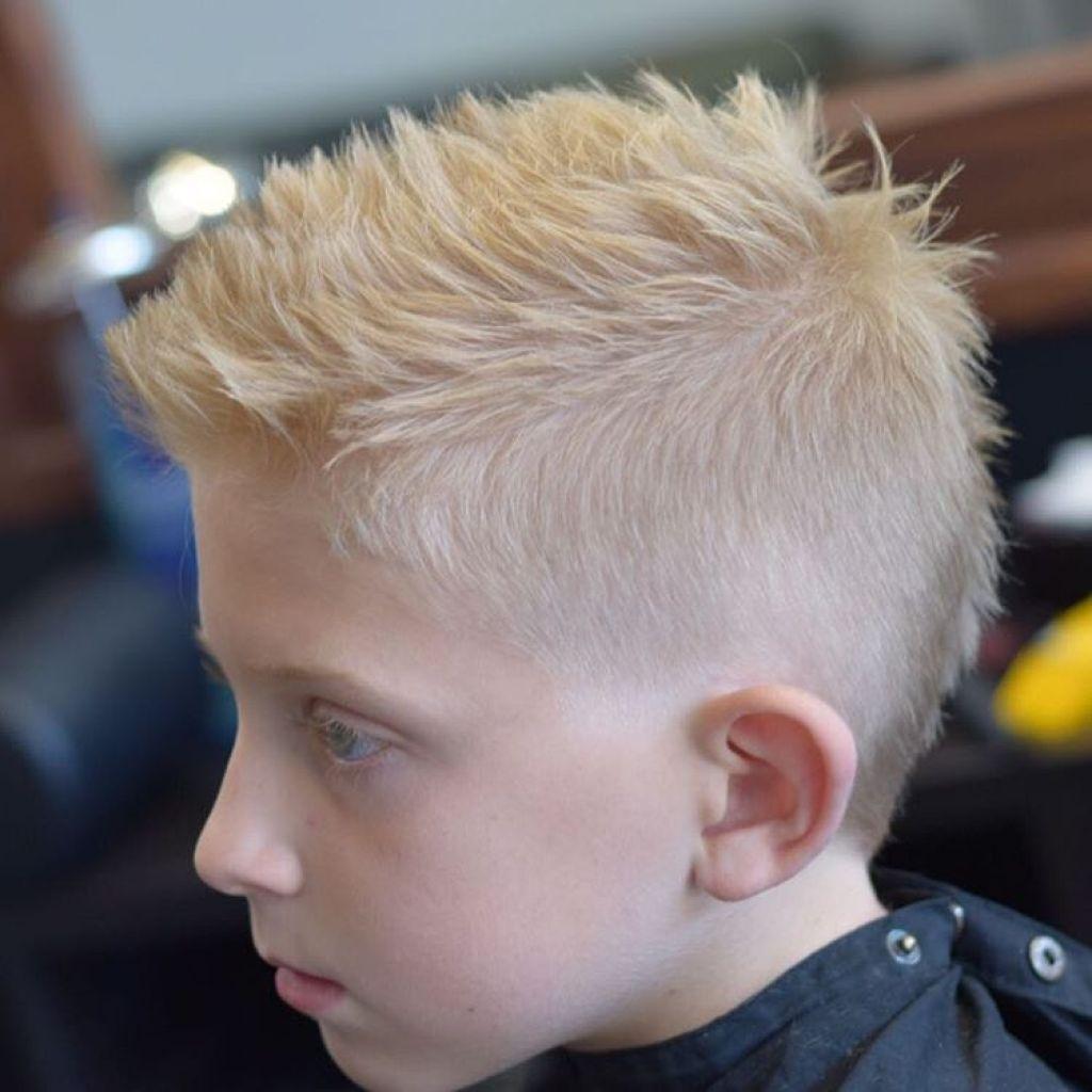 corte de cabello para niño basico escolar