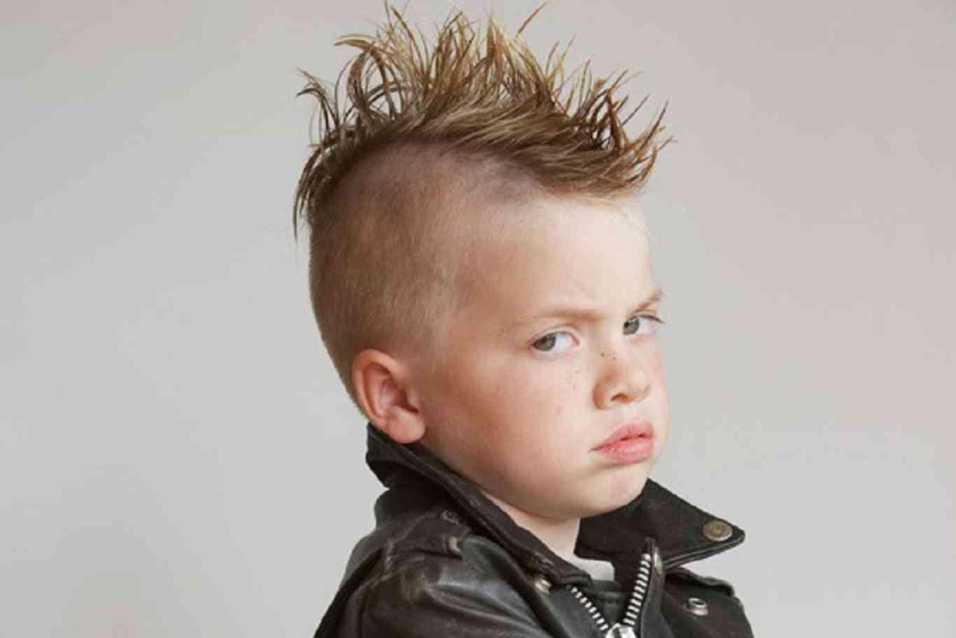 cortes de pelo para niños con lineas