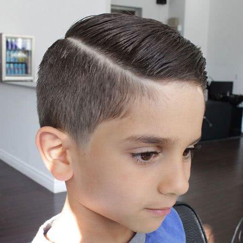 cortes de cabello para niños bonitos