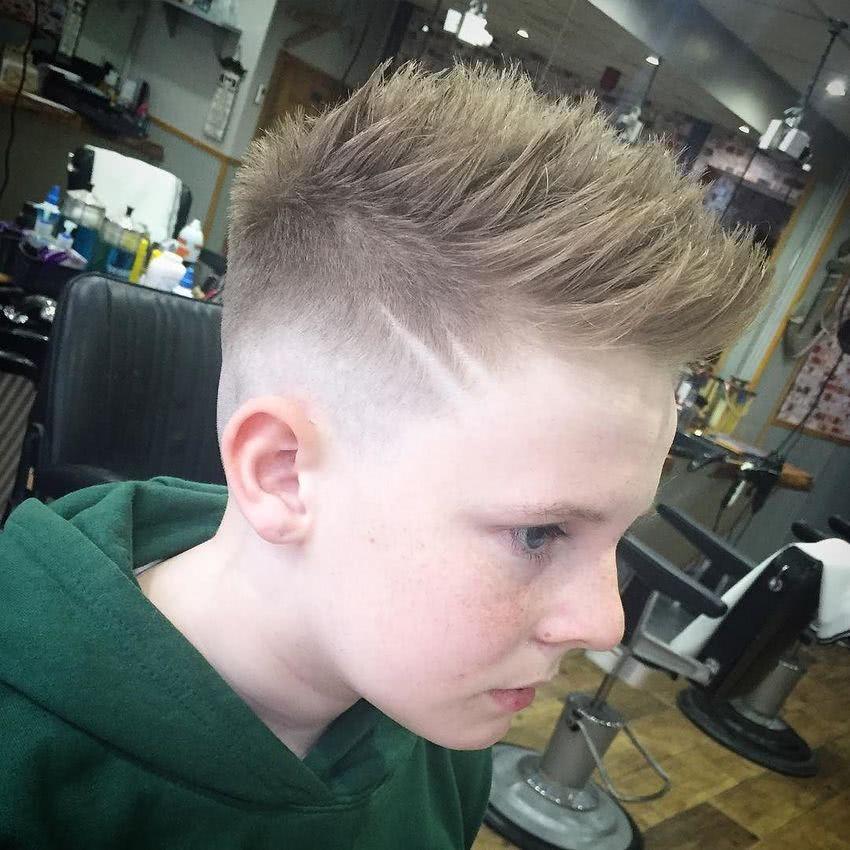 cortes de pelo para ninos corto