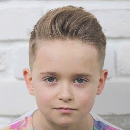 corte de pelo para niños degradado