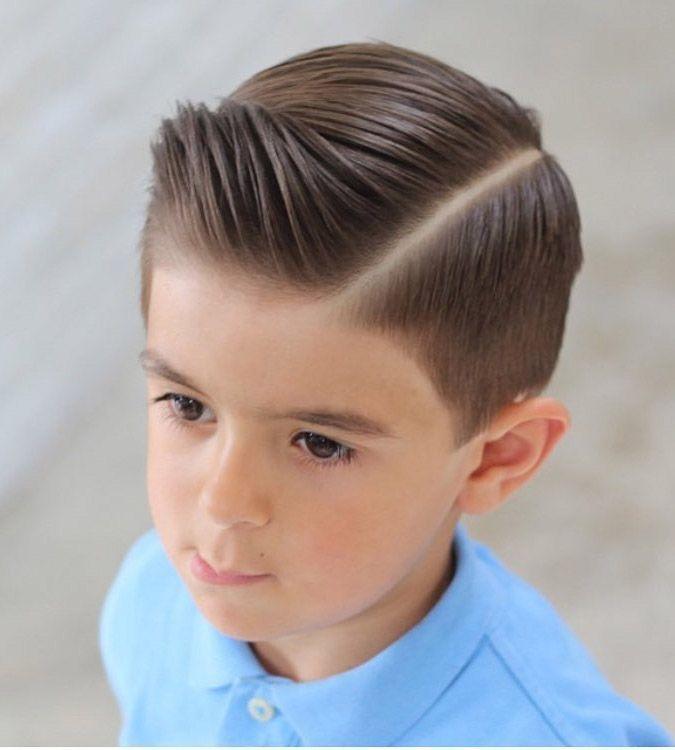 cortes de pelo para niños de pelo largo