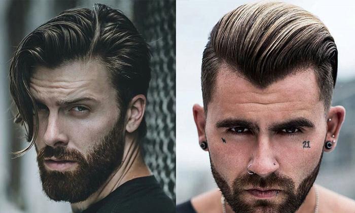 cortes de pelo corto sin flequillo hombre