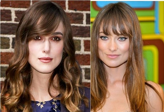 cortes de pelo con flequillo para mujeres