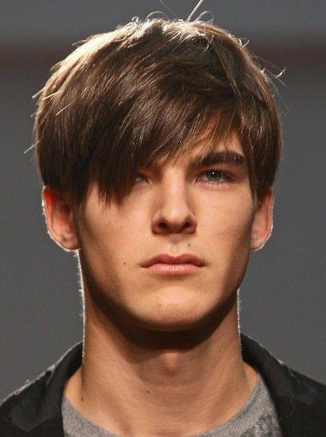 cortes de pelo con flequillo largo hombre
