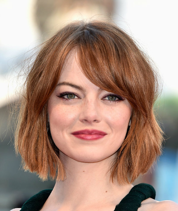 cortes de pelo flequillo mujer