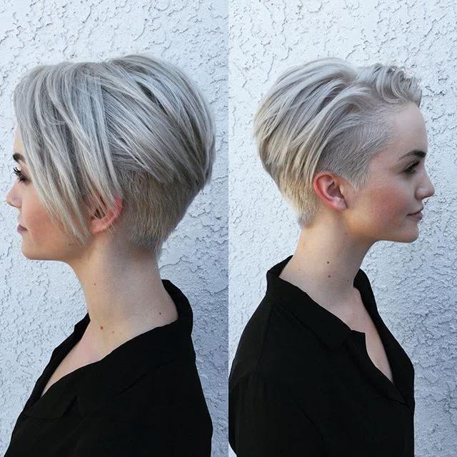 Espectacular peinados con corte bob Galería de ideas de coloración del cabello - Cortes de pelo Bob ¡Los mejores cortes de pelo!