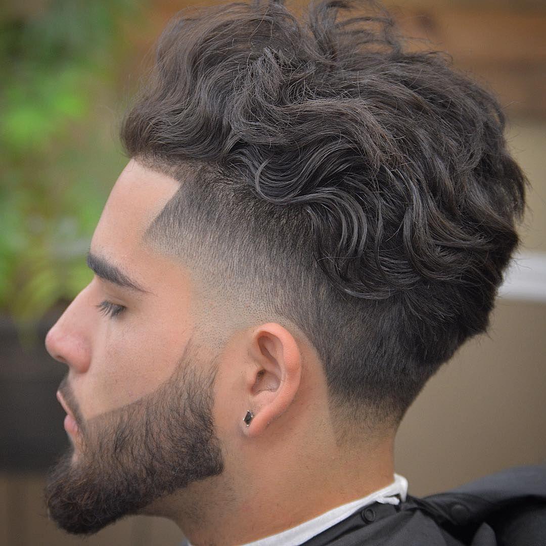 corte de pelo corto con flequillo hombre