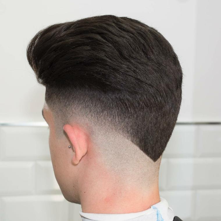 cortes de pelo liso hombre 2017