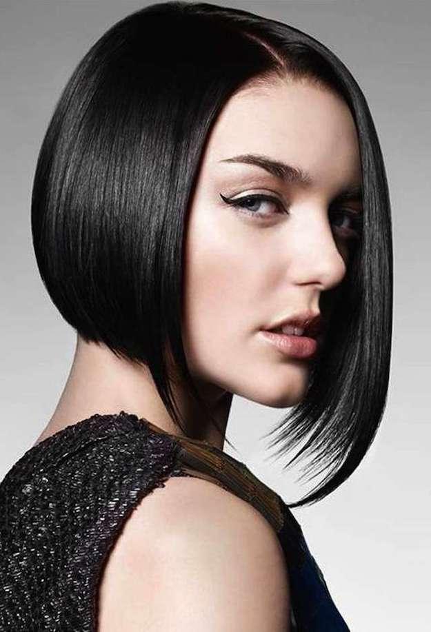 cortes de pelo liso y fino mujer