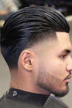 corte de pelo lacio hombre corto