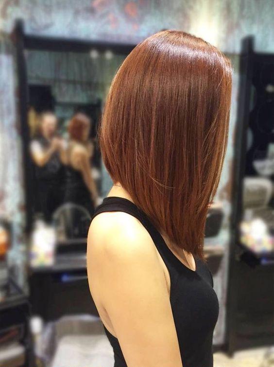 cortes de pelo melena corta para mujer