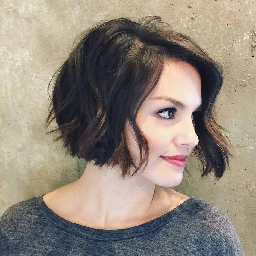 cortes de pelo a melena corta