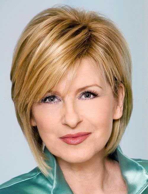 cortes de pelo mujeres de 50 años imagenes